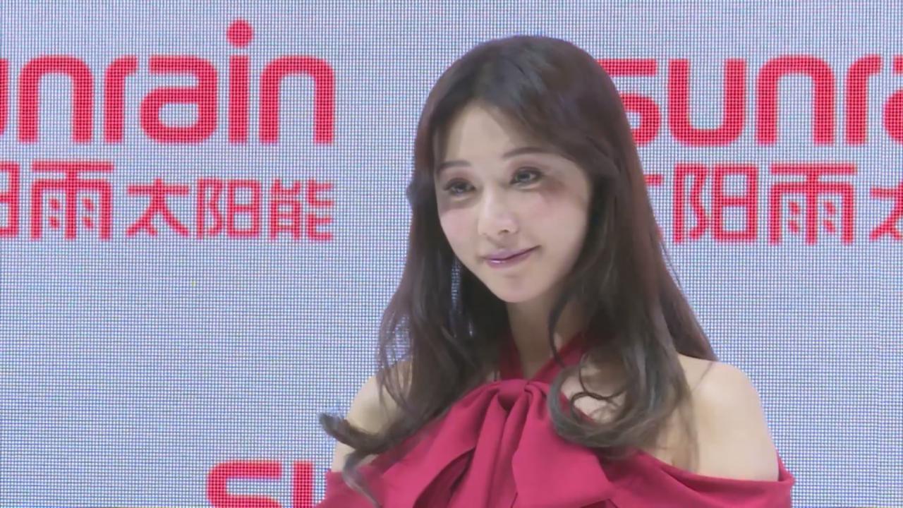 (國語)林志玲病後復工現身上海 表示身體已恢復健康