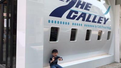 飛機主題餐廳@747 The Galley