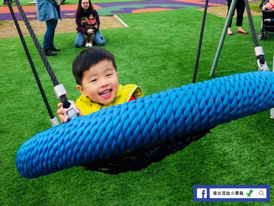 台灣親子遊之舞蝶共融式遊戲場