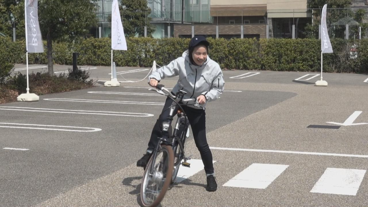 (國語)出席代言活動展示車技 Non透露愛騎單車郊遊