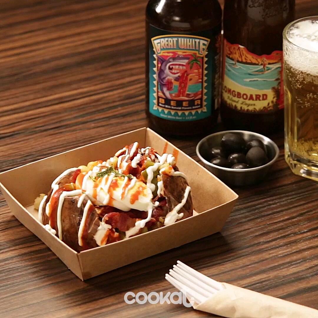 [食左飯未呀 Cookat] 芝士焗薯