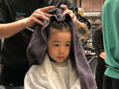 容羨媛之剪頭髮?洗乜驚呀!