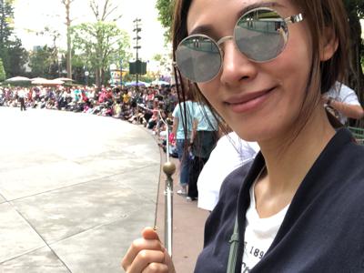 今日去迪士尼樂園玩