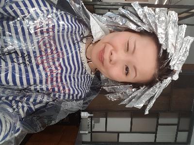 德國人妻 卡菲波蘭剪頭髮