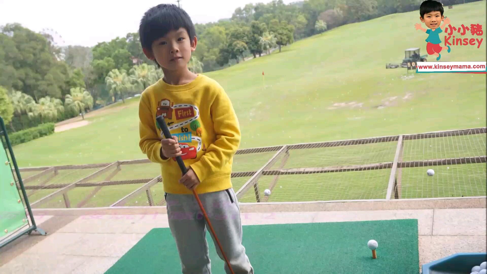 小小豬觀瀾湖篇 - 玩生態公園兼打Golf
