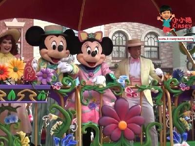 小小豬玩樂篇 - 迪士尼明星嘉年華列車