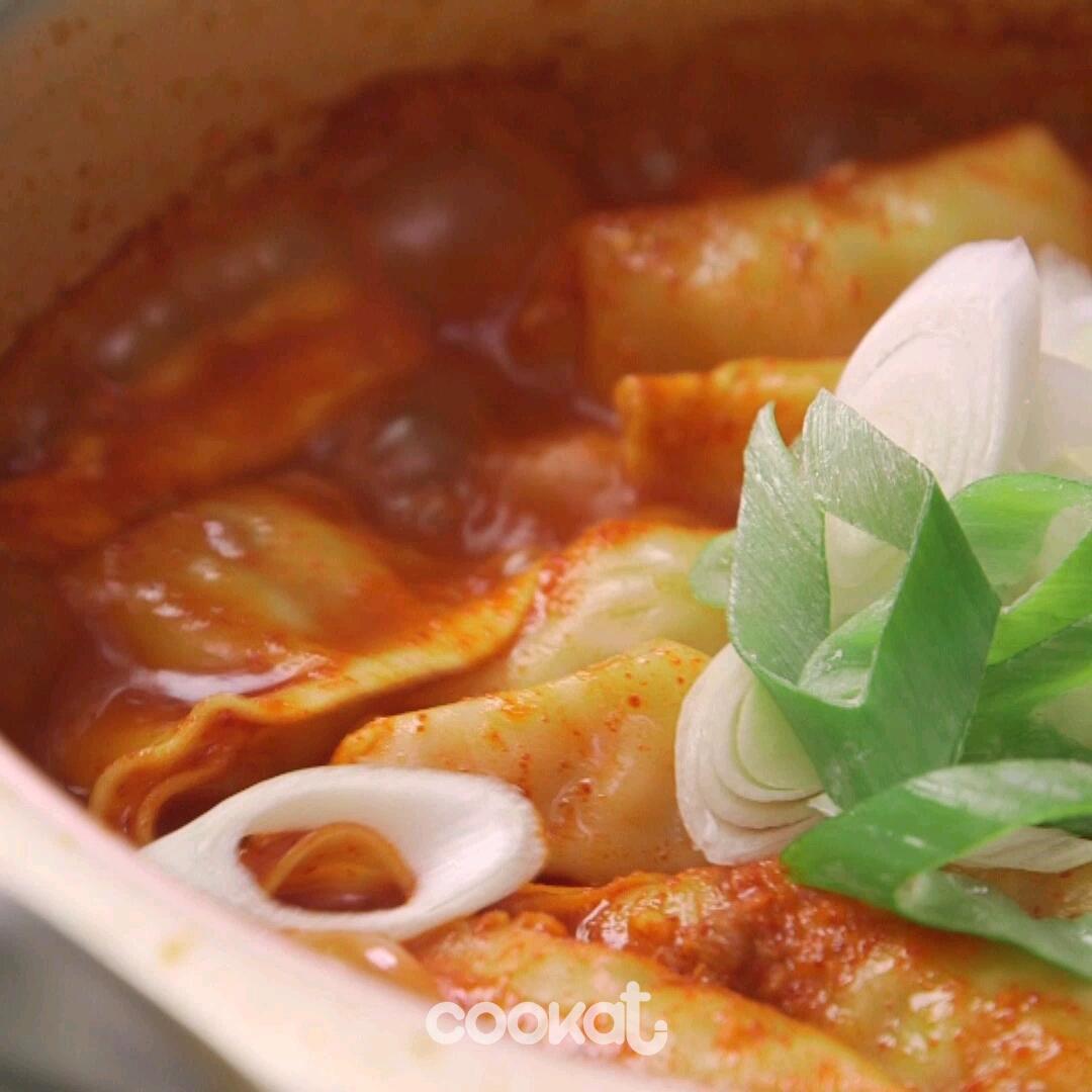 [食左飯未呀 Cookat] 韓式水餃豆腐湯