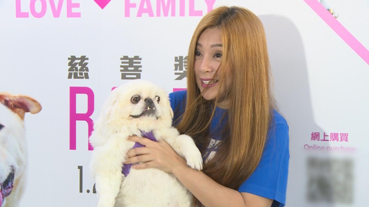 (國語)傅明憲攜愛犬出席慈善活動 鼓勵市民以領養代替購買