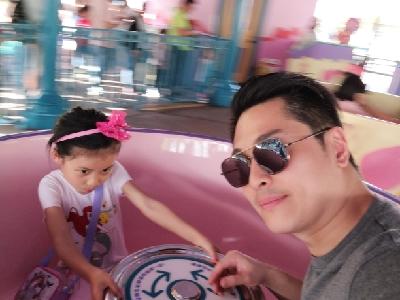 2018-04-05 巴西寶寶的Disney day