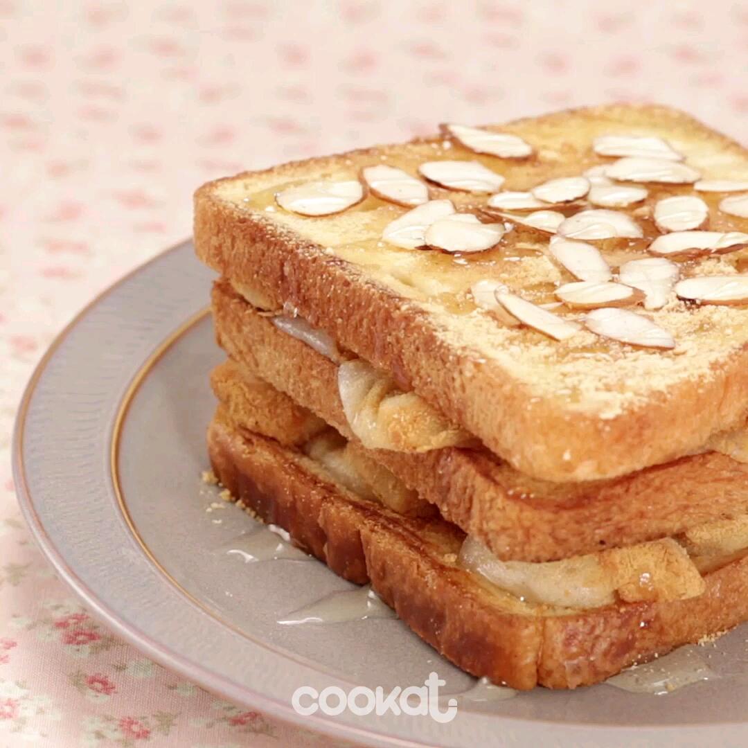 [食左飯未呀 Cookat] 韓式年糕多士