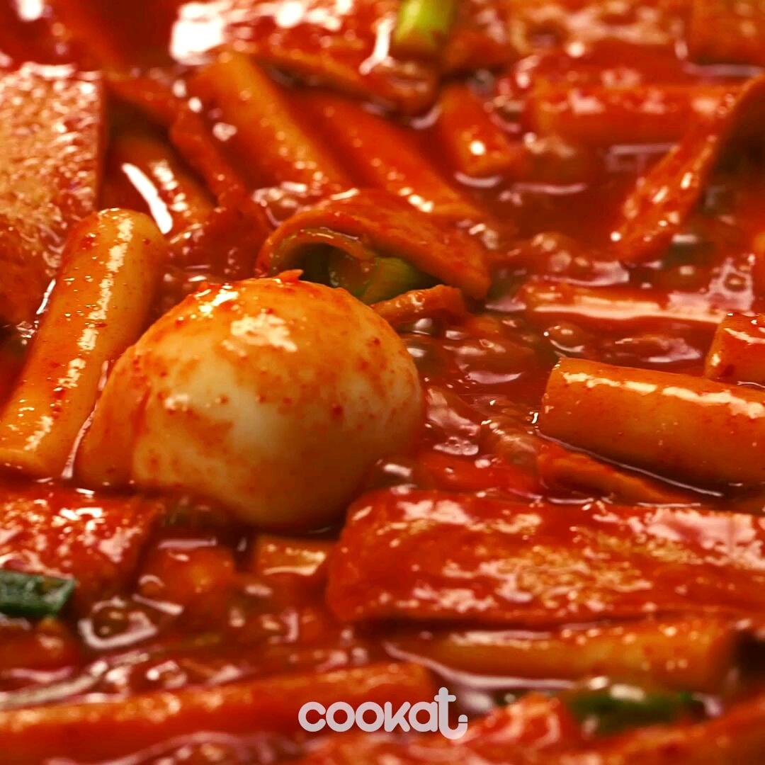 [食左飯未呀 Cookat] 韓國街頭炒年糕(ft.韓式熱狗)