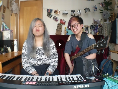 Bruno Mars - Versace on the floor (浠彤Heitung and Mel cover)
