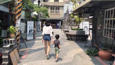 漫步台南、台南人大推的霜淇淋