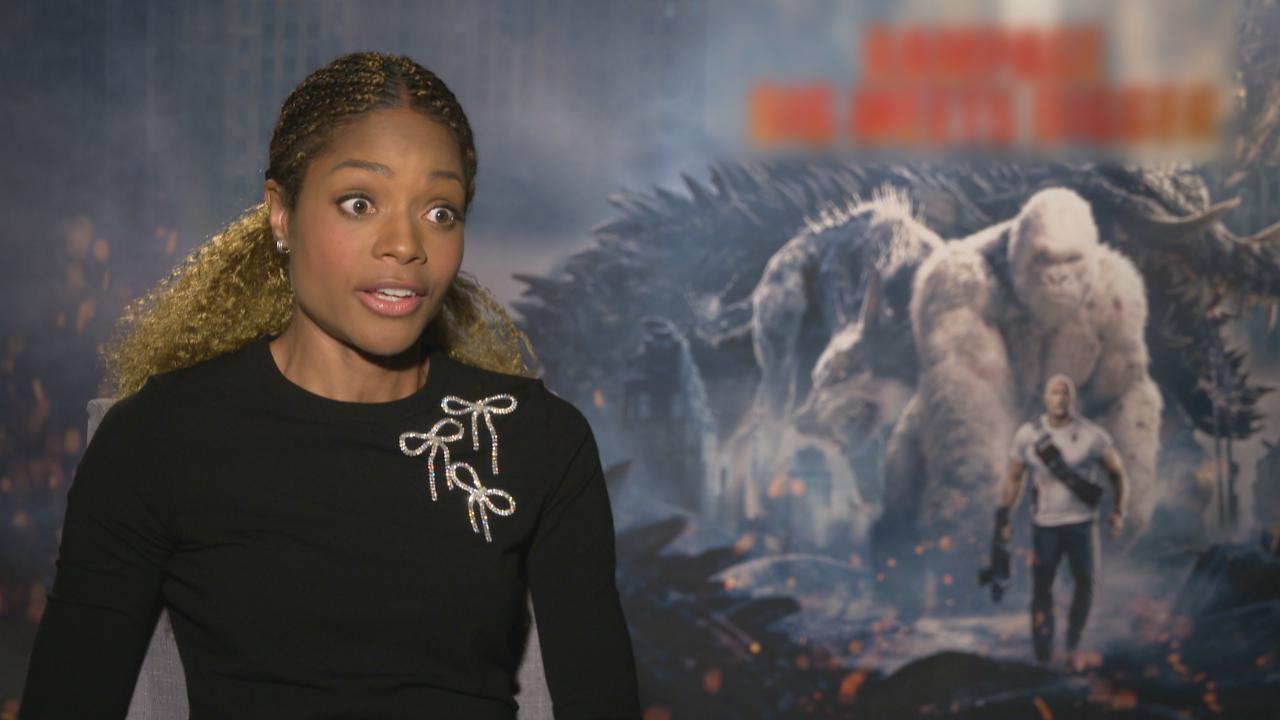 NaomieHarris首度參演怪物電影 感謝拍檔Dwayne給予幫助