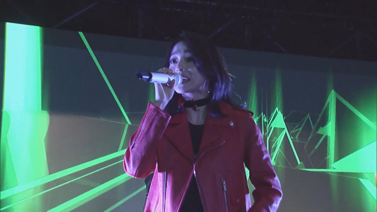 (國語)張韶涵上海出席活動 獻唱多首經典歌曲