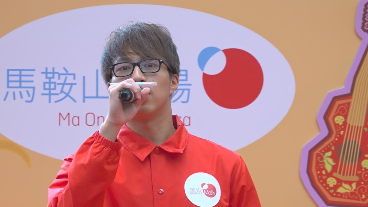 (國語)吳業坤出席活動 獻唱新歌送粉絲