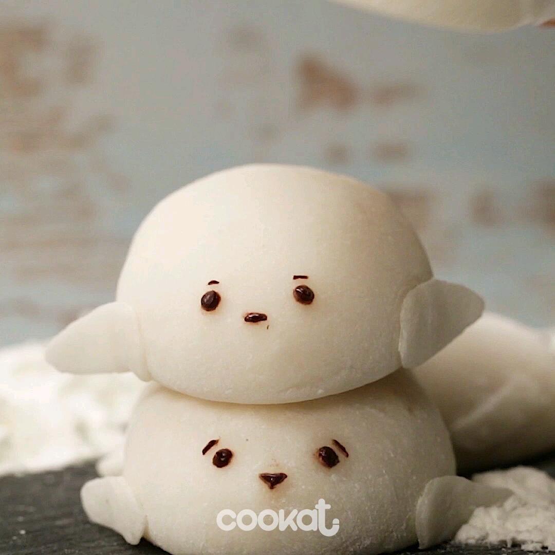 [食左飯未呀 Cookat] 小海豹糯米糍