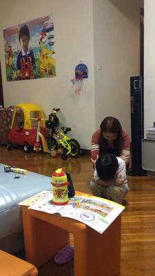 親子表演綵排?Sakura