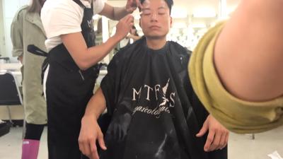 陳志健之降魔的捉妖遊戲上妝