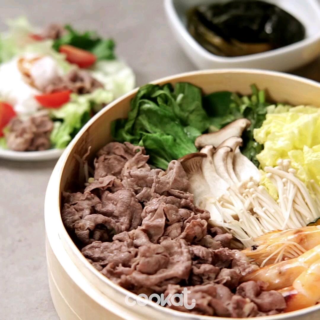 [食左飯未呀 Cookat] 蒸牛肉