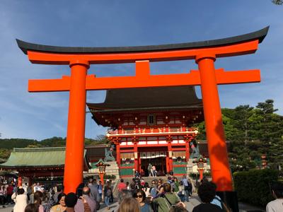 日本遊??稻荷神社行山記⛩️