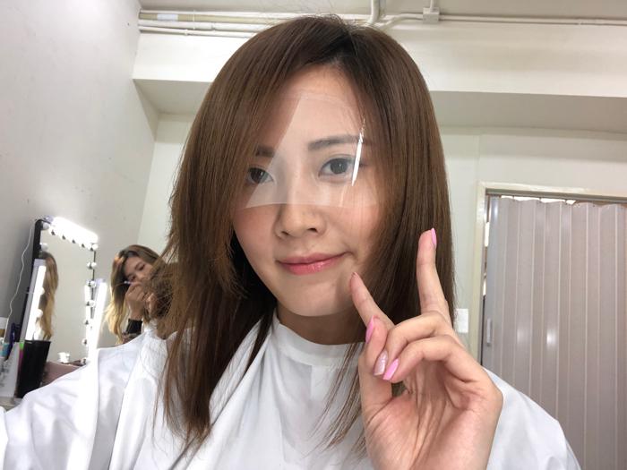 朱晨麗要剪頭髮啦!