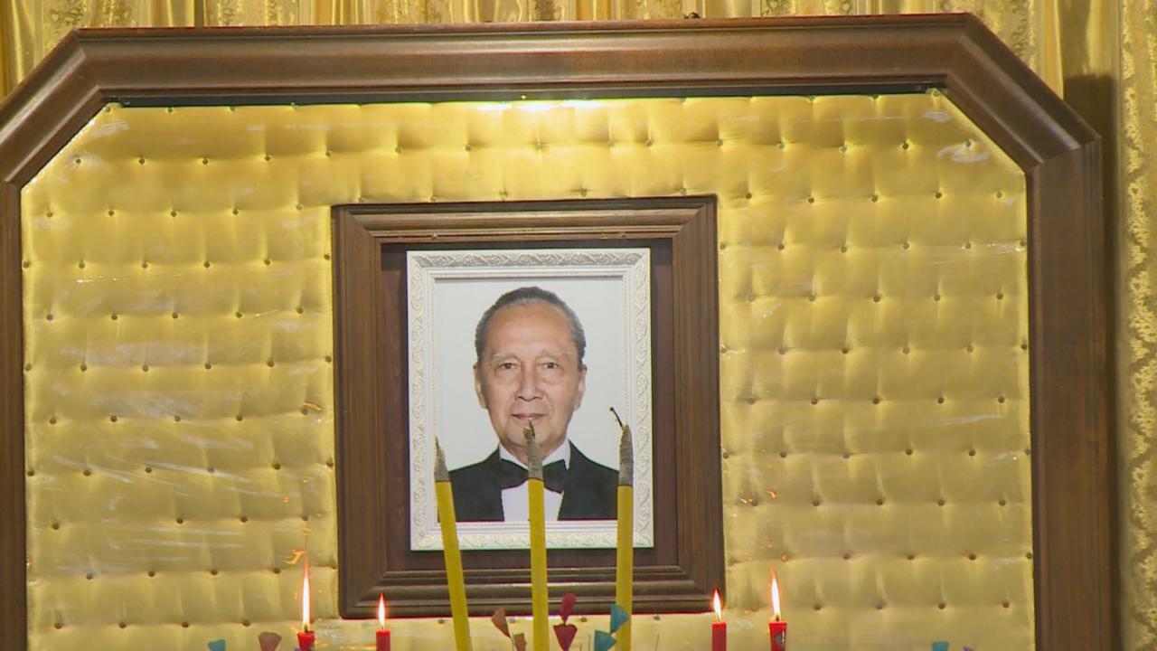 著名影星雷震設靈 姜大衞等圈中好友到場弔唁