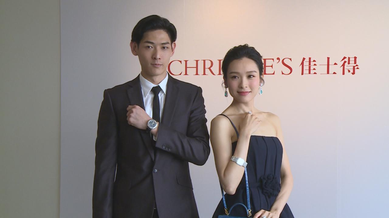 李佳芯擔任模特兒展示珠寶 努力工作盼早日當業主