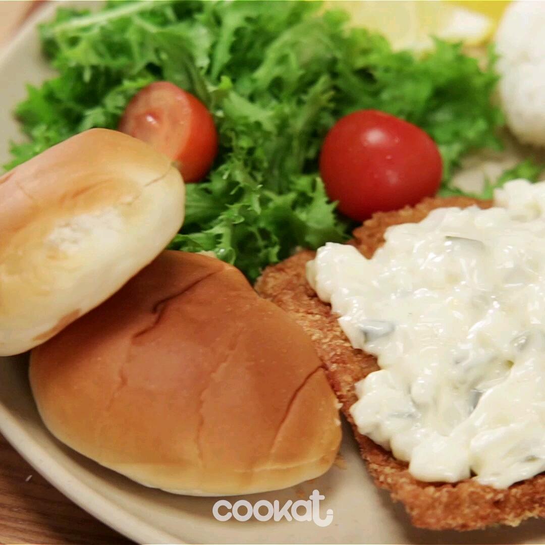 [食左飯未呀 Cookat] 粟米芝士炸魚糕