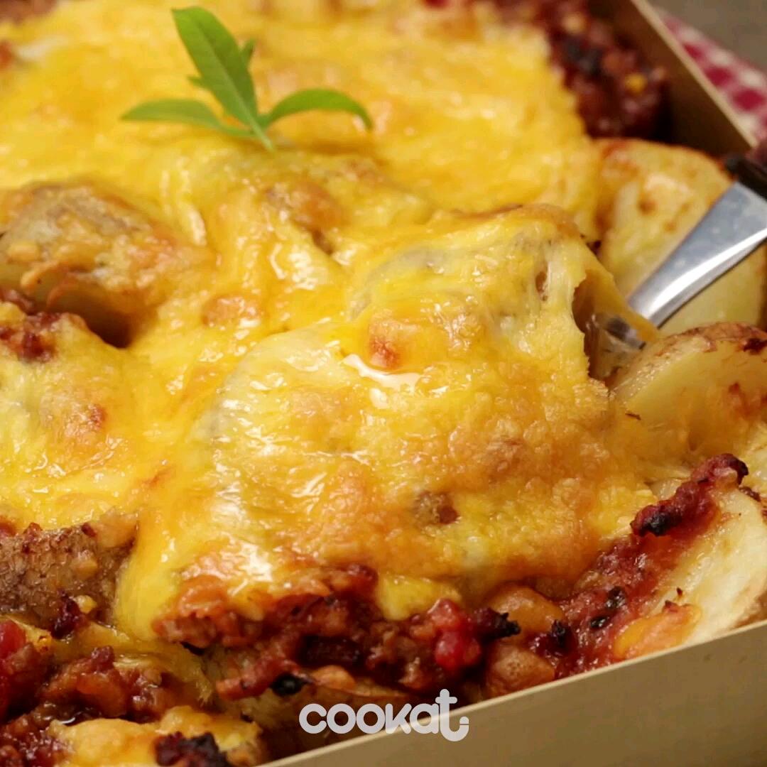 [食左飯未呀 Cookat] 芝士bb薯