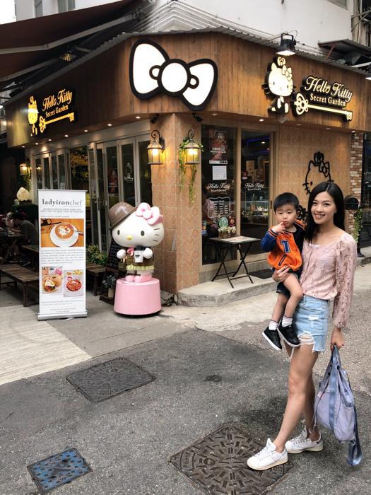 香港大坑Hello Kitty主題Cafe