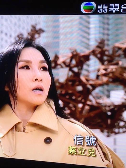 蔡立兒唱K唱自己全新單曲「信號」