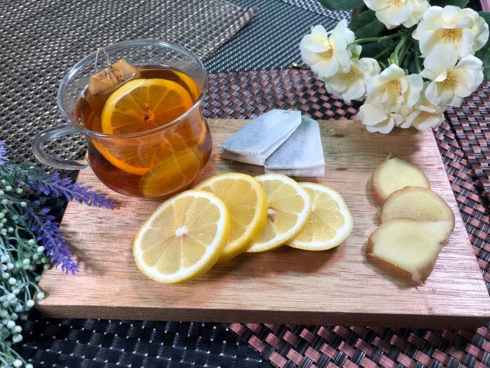 李旻芳 感冒必飲 蜂蜜檸檬生薑紅茶