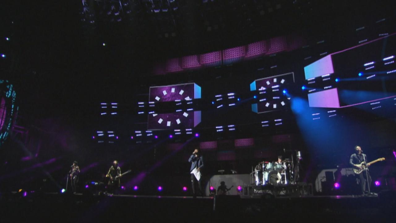 五月天首場香港戶外演唱會 連串快歌炒熱氣氛