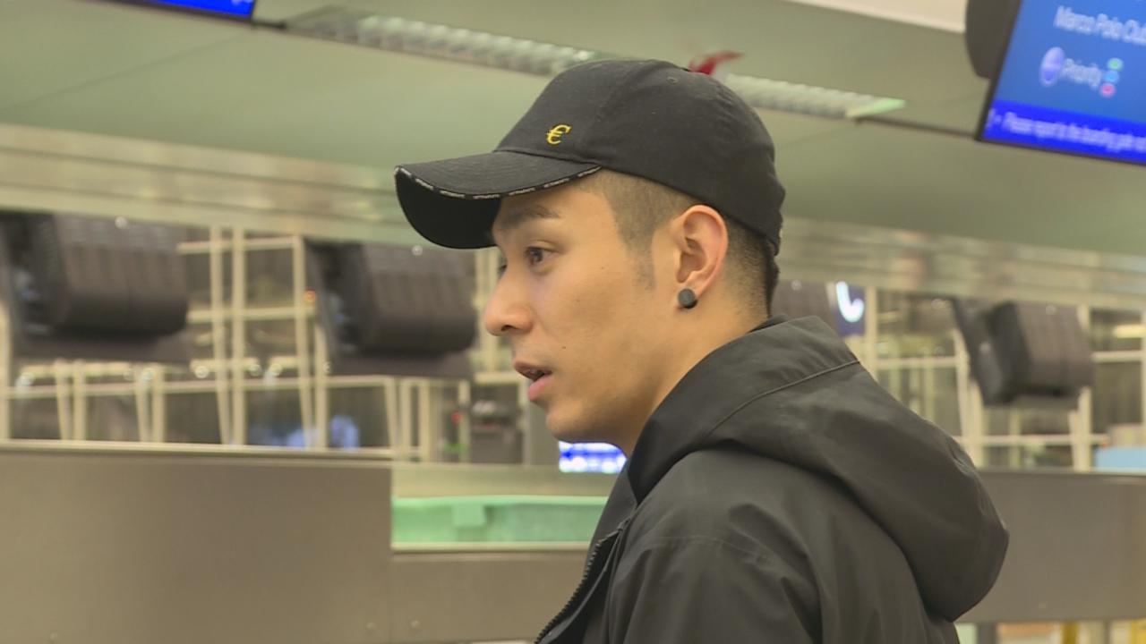 周柏豪漏夜現身機場 出發日本為新劇拍攝