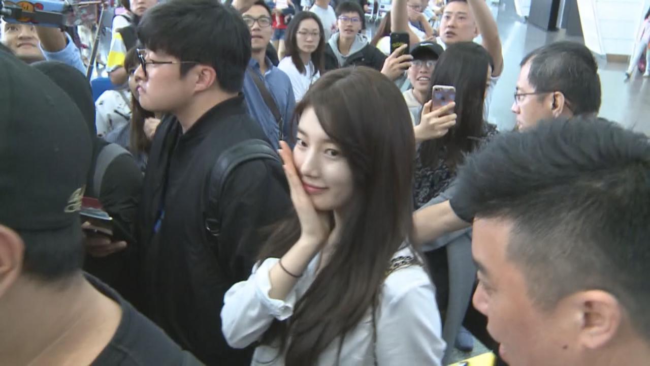 秀智相隔三年再到訪台灣 獲粉絲接機表現親民