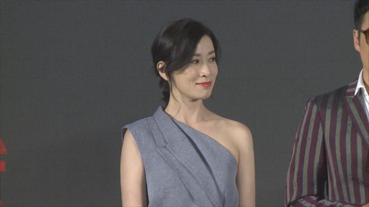 吳鎮宇北京出席新戲發布會 自爆戲中造型源自個人想法