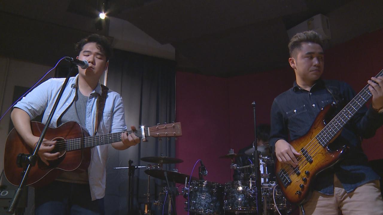 (國語)謝偉倫與朋友自組樂隊 齊聚錄音室錄新歌