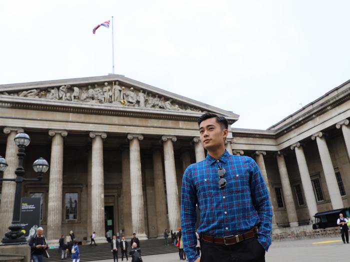 跟住Danny去英國 帶你去大英博物館