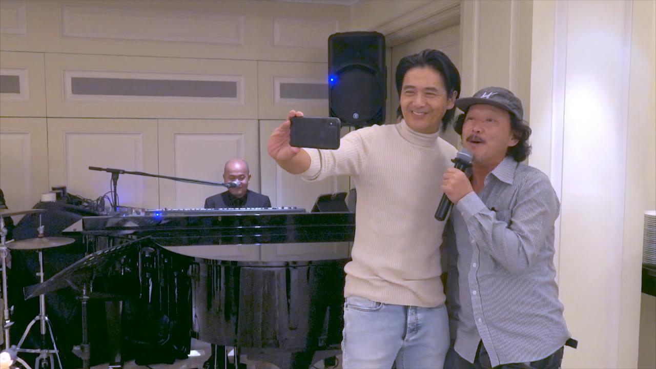 周潤發63歲生日舉行Party 廖啟智即場獻唱