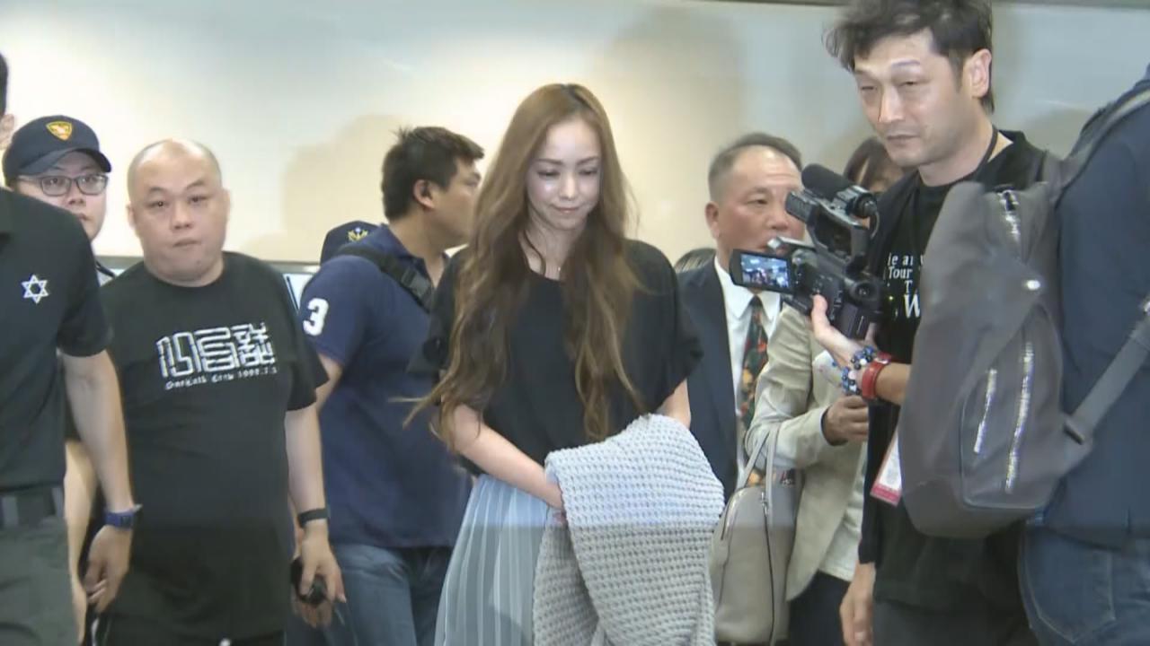 安室奈美惠演唱會舉行前夕 台灣粉絲大灑金錢迎偶像