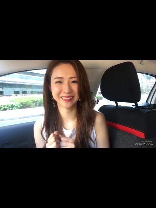 Hana 為小滋女孩站台宣傳