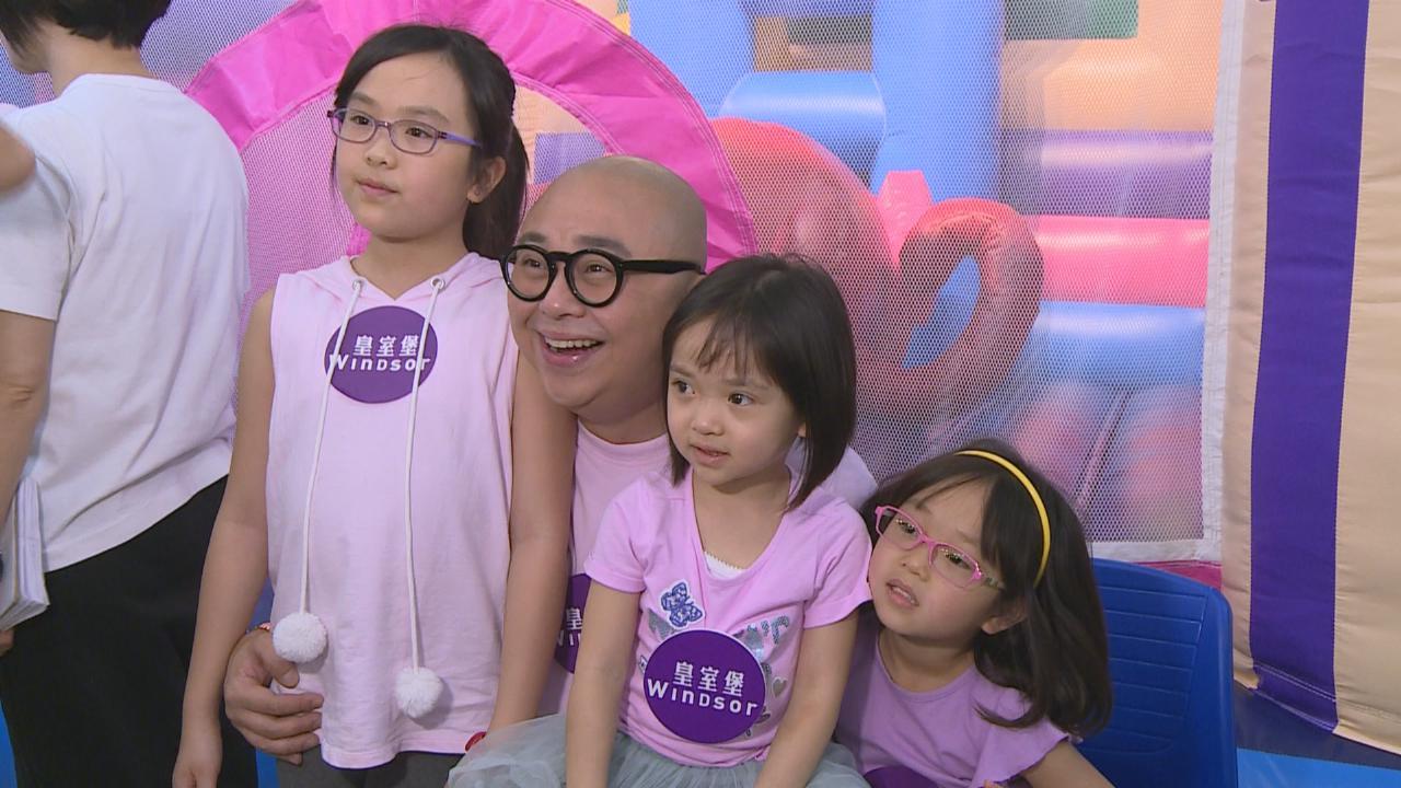 (國語)林盛斌笑指愛女較國際化 三位女兒秀歌喉大唱英文歌