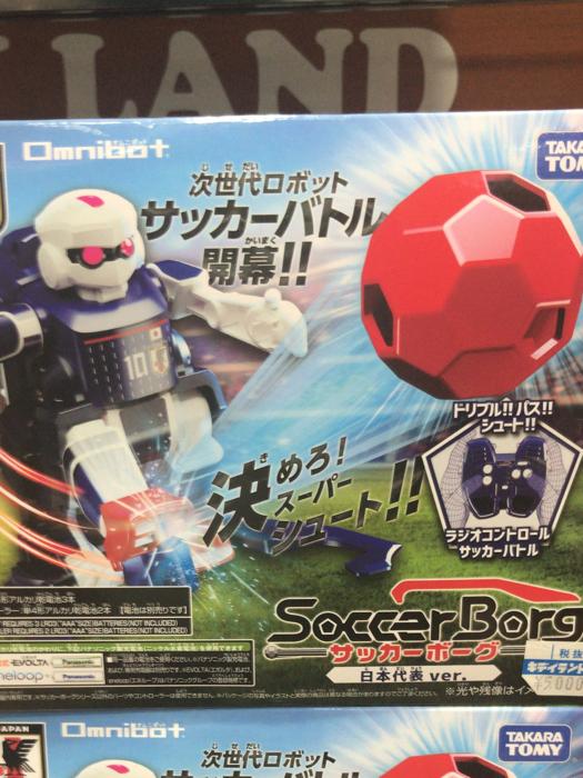 足球機器人@原宿Kiddy Land