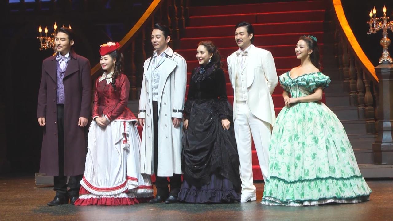 (國語)Luna再度參演音樂劇 與Tei呈現劇中合唱一幕