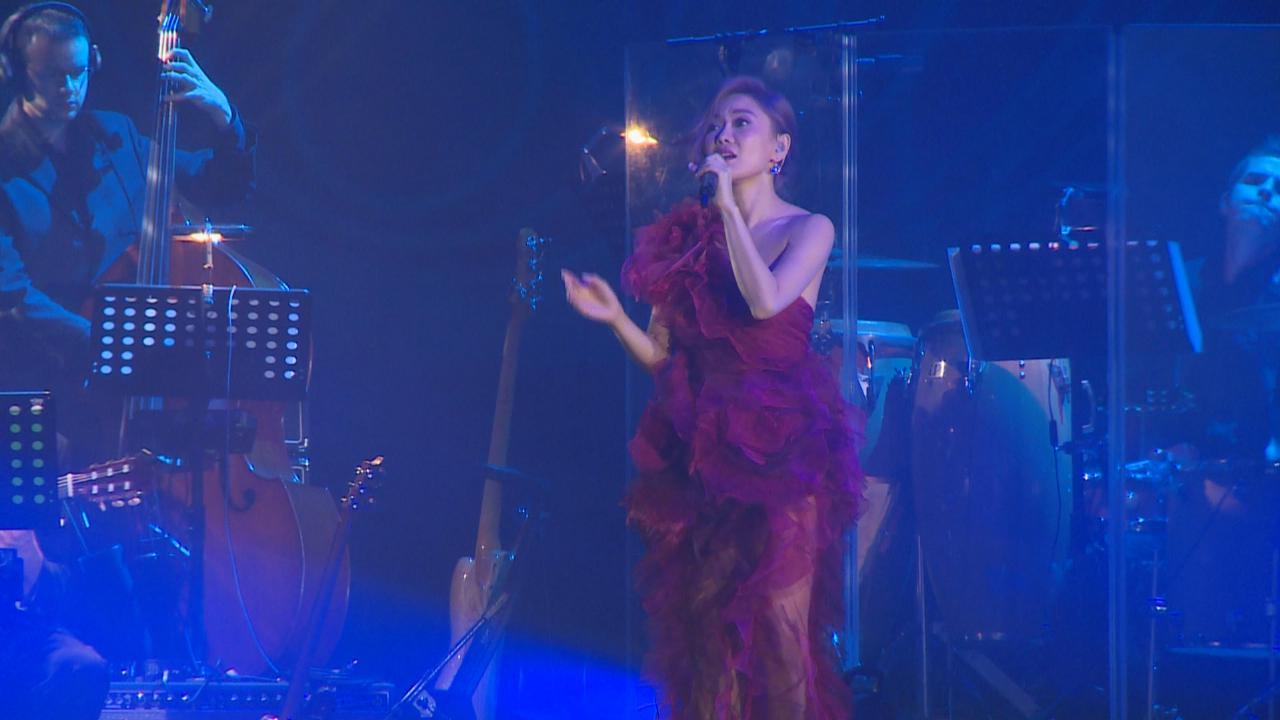 胡琳演唱會開鑼 狀態大勇騷歌喉