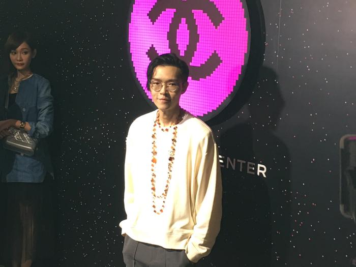 薛凱琪倪晨曦張敬軒玩彩妝遊戲