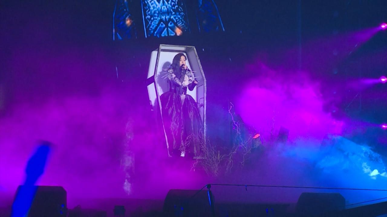 (國語)張靚穎上海舉辦演唱會 化身中世紀女王霸氣登場