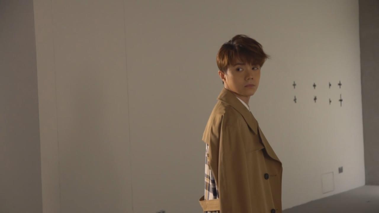 (國語張敬軒為新歌拍攝MV 慶幸抓住機會如願成為歌手
