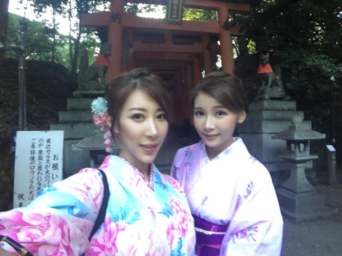 陳婉衡&簡淑兒-AJ in Kyoto